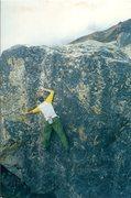 Rock Climbing Photo: HMI basecamp bouldering. Totally ideal!
