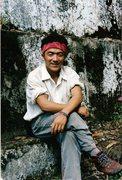 Rock Climbing Photo: Pasang, the Bruce Springsteen of Sikkim.