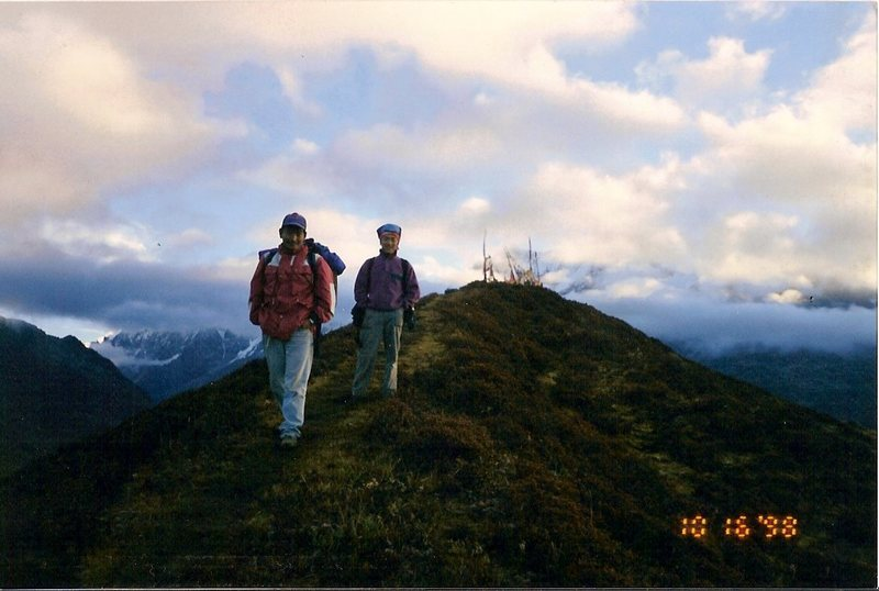 Rock Climbing Photo: Sange and Pasang after a hike to watch the sunrise...