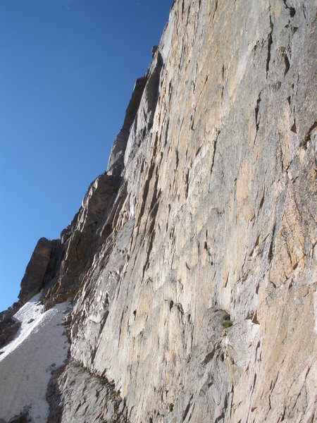 Rock Climbing Photo: Bryce on the first pitch of Pervertical.