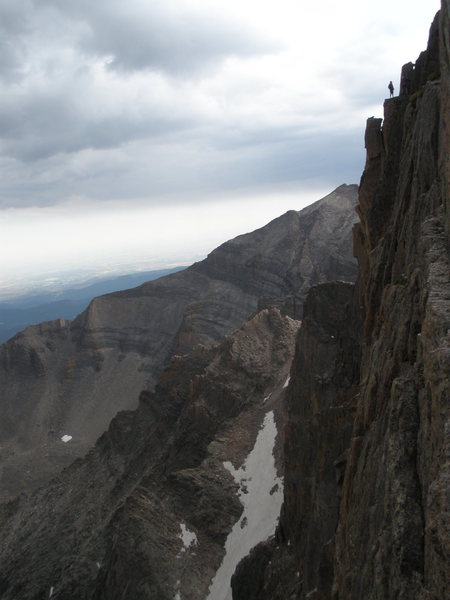 Party ahead of us, just finishing the Table Ledge traverse.