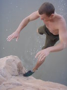 Rock Climbing Photo: release