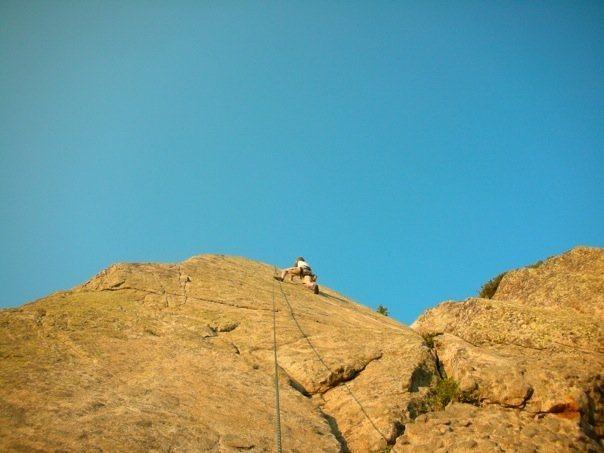 Rock Climbing Photo: Phantom Staircase Right.  Climber: Taylor Christen...