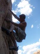 Rock Climbing Photo: kyle