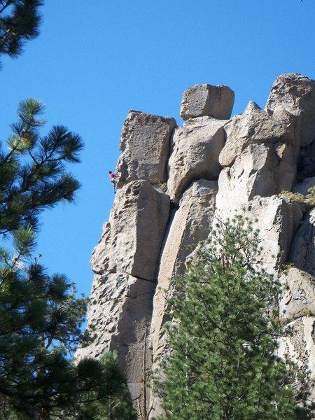 Rock Climbing Photo: Pull My Finger.