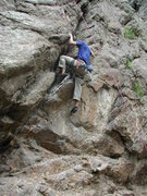 Rock Climbing Photo: Notice the TR. This is what happens when your budd...