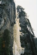Rock Climbing Photo: 10% Real 100% fat.  Probably not WI5 here but soli...