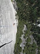 Rock Climbing Photo: The last pitch rocks!