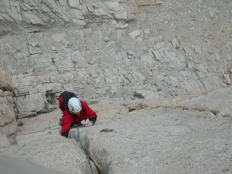 Rock Climbing Photo: splitter