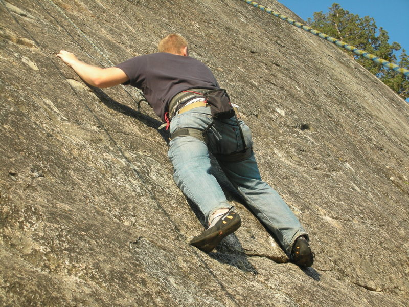 Rock Climbing Photo: Climbing Indian Springs