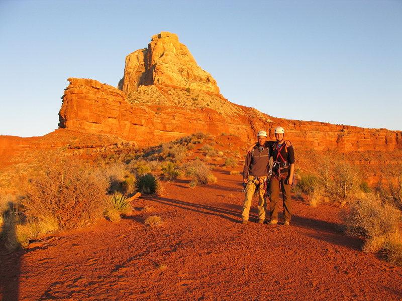 Rock Climbing Photo: Luis, Nick and Zoro