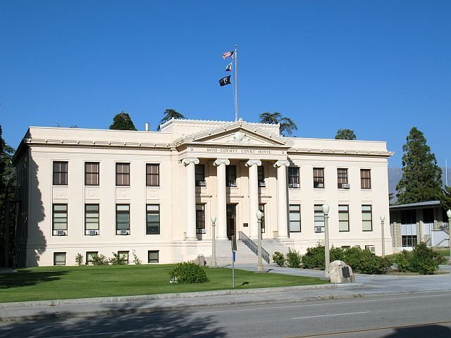 Rock Climbing Photo: Inyo County Courthouse, Independence