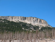 Rock Climbing Photo: Ghost Forest and Mammoth Crest from Horseshoe Lake...