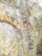 Rock Climbing Photo: Maite Guarda getting the redpoint!