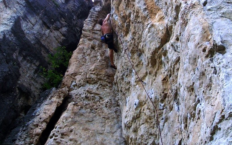 Rock Climbing Photo: Cruxin' Photo by Tara Reed