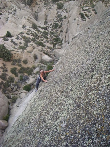 Rock Climbing Photo: Chick Dead, Dog Killed It. The second pitch if you...