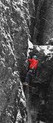 Rock Climbing Photo: Good fun in the snow!