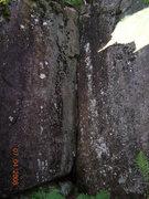 Rock Climbing Photo: warm up crack