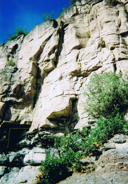 Rock Climbing Photo: Norwegian Girl, Spanish Tyranny....