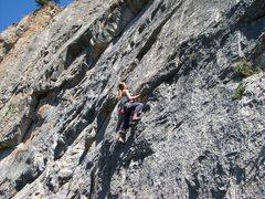 Rock Climbing Photo: McFlatus Roof.