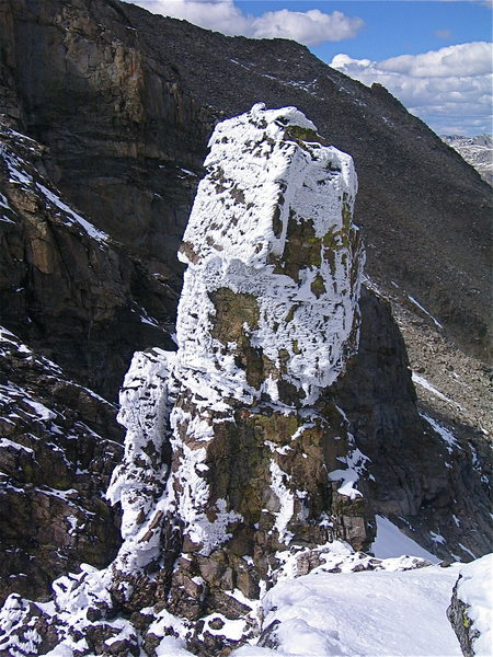 Rock Climbing Photo: Pecker Torre.