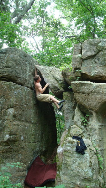 Rock Climbing Photo: at the top