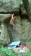 Rock Climbing Photo: ryan on smack crack