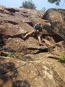 Rock Climbing Photo: Jon Leading