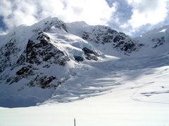 Rock Climbing Photo: The base of the Northwest Basin