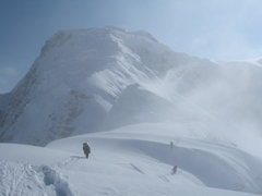 Rock Climbing Photo: West Ridge leading towards summit