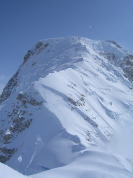 View of the Upper West Ridge
