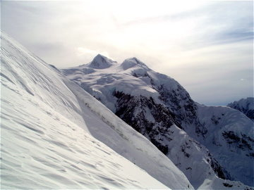 South Summit from the West Ridge