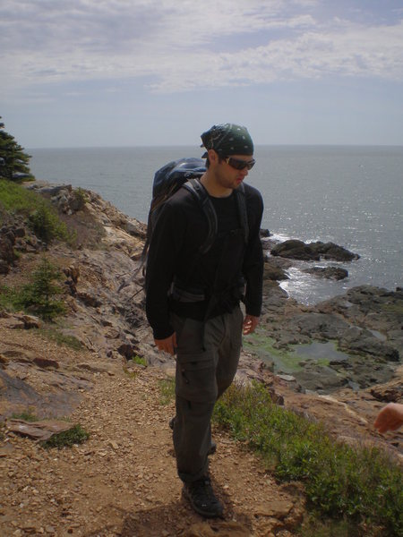 Acadia, on the way back from Great Head
