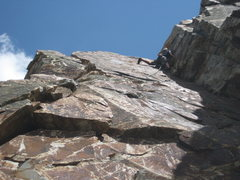 Rock Climbing Photo: Eleventh Hour, 2nd pitch.
