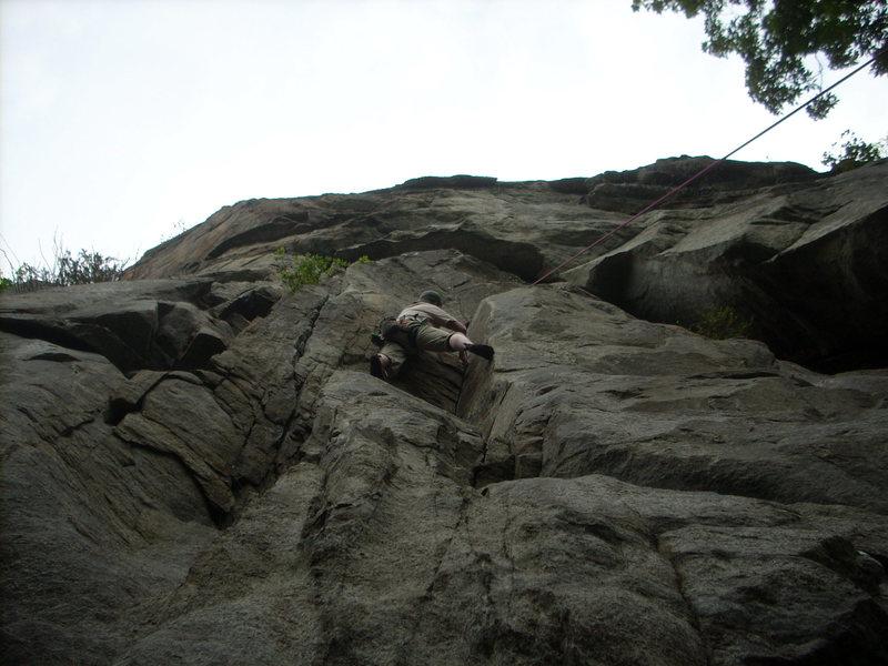 5.10D at potash mountain in the Dacks