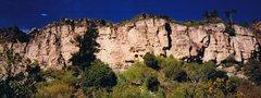 Rock Climbing Photo: Lots of climbs here...note huge right facing pilla...