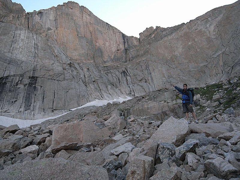 Rock Climbing Photo: The Diamond!
