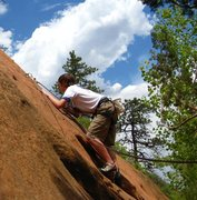 Rock Climbing Photo: First Lead!  RRC El Sol