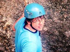 Rock Climbing Photo: Preparing to climb Solo System in the Marker area ...