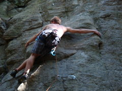 Rock Climbing Photo: Manic Depression