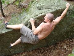 Rock Climbing Photo: Red Storm Rising