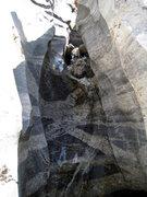 Rock Climbing Photo: Waterfall at Jailhouse Rock area on Mt. Lemmon dur...