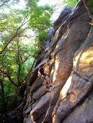Rock Climbing Photo: f/8