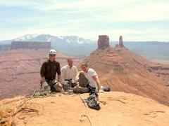 Brad, Travis and John on the summit.