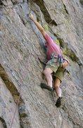 Rock Climbing Photo: Kirk Miller doing it wild turkey style. Photo by J...