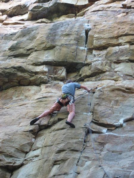 Rock Climbing Photo: the aquittal