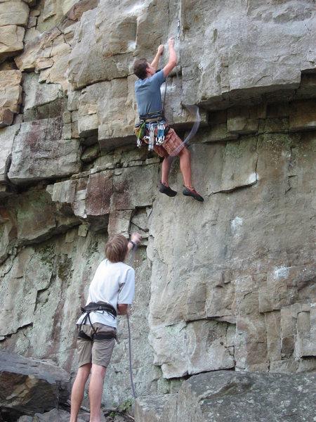 Rock Climbing Photo: aquittal