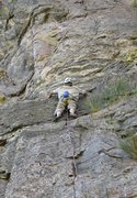 Rock Climbing Photo: Jeroen about to engage the huecos.  Photo by Jason...