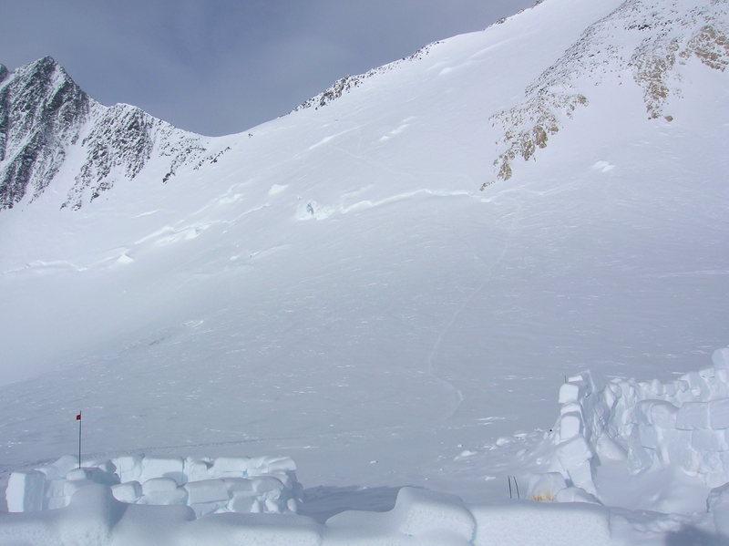 Rock Climbing Photo: Denali Pass from 17K.