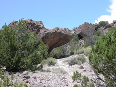 Rock Climbing Photo: The view of KFAD as you approach from the trail.  ...